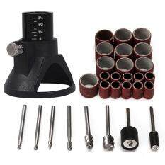 29pcs Universal Rotary Tool Accessories Woodworking Burr Grinding Sanding Tool New