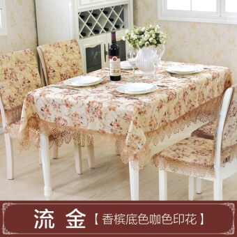 3 Fold The Clear European Table Cloth Cover Cloth Coffee Tablecloth Lace  Table Runner Tablecloth Chair