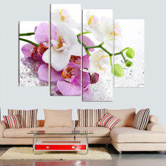 Xcm Pcs No Frame Pink Flowers Wall Art Picture Modern Canvas Print Painting Home  Decoration With Wall Decoration At Home
