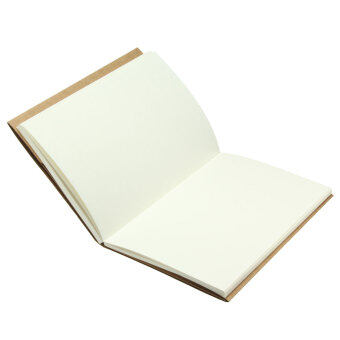 Harga 32K White inside page Vintage Back Blank Kraft Paper SketchbookJournal Diary Sketching Note Book