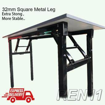 32mm Square Metal Leg Quality Foldabla Banquet Table - 460mmD