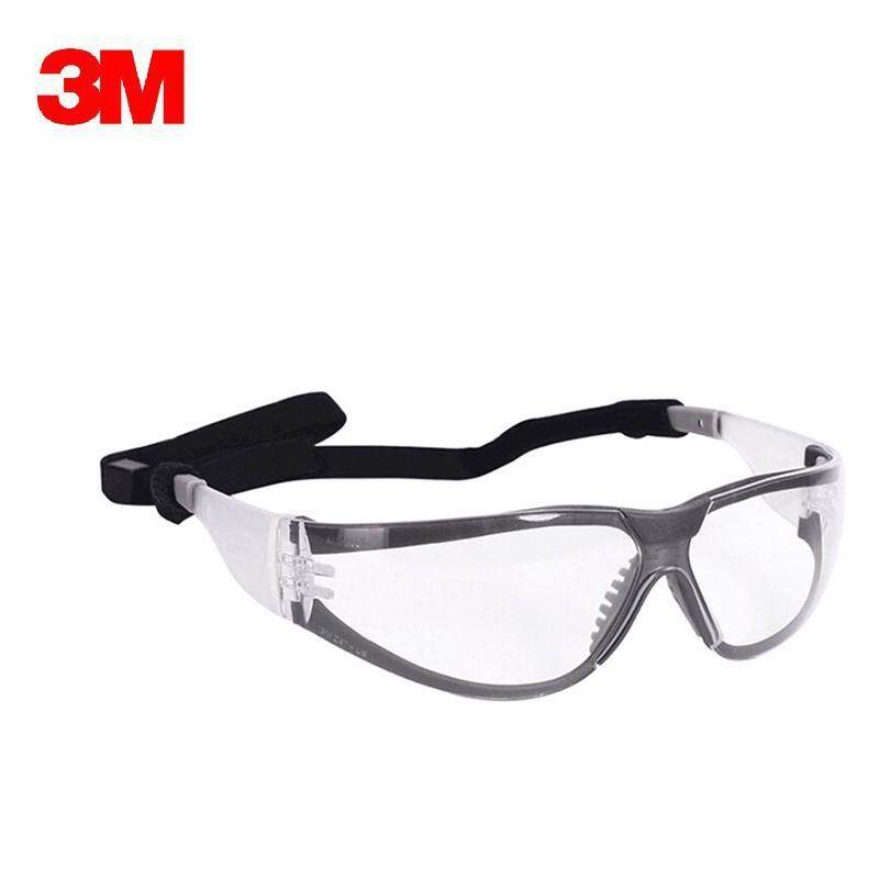 Buy 3M 11394 Safety Gasses Windproof Anti-uv Protective Glasses Working Eyeglasses Transparent lenses G1510 Malaysia