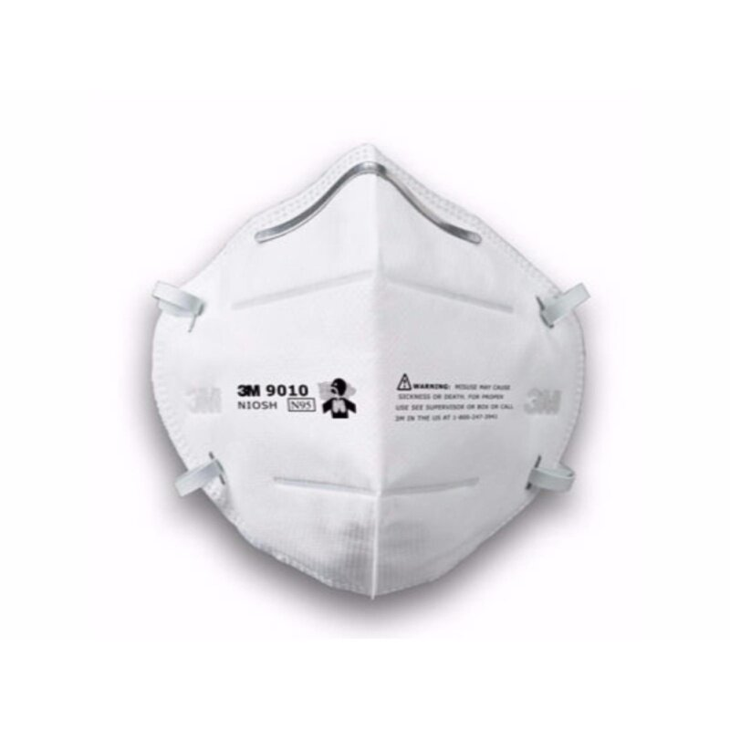 Buy 3M 3M9010 N95 Foldable Dust/Mist Particulate Respirator Half Mask (10pcs) Malaysia