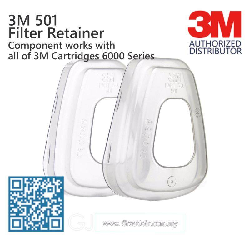 Buy 3M 501 Filter Retainer For 3M 5N11/ 3M 5P71 With 6000 Series Cartridge [1 Pair] Malaysia