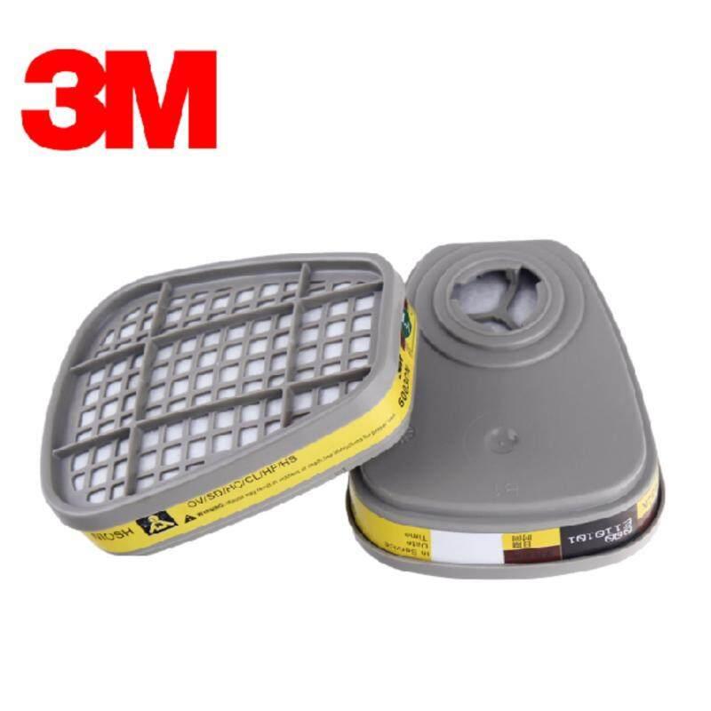Buy 3M 6003 Organic Vapor/ Acid Gas Cartridge (Pack of 2) Mask Filter Malaysia