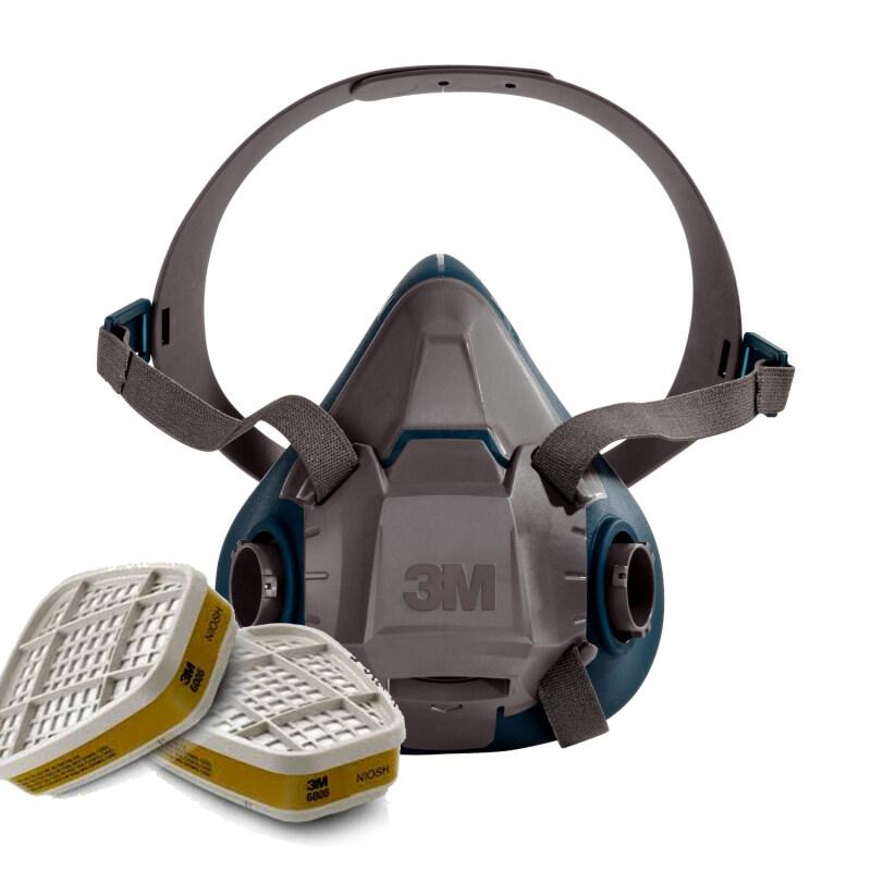 Buy 3M 6502QL Rugged Respirator Half Facepiece + 3M 6006 Multi Gas/Vapor Cartridge Malaysia