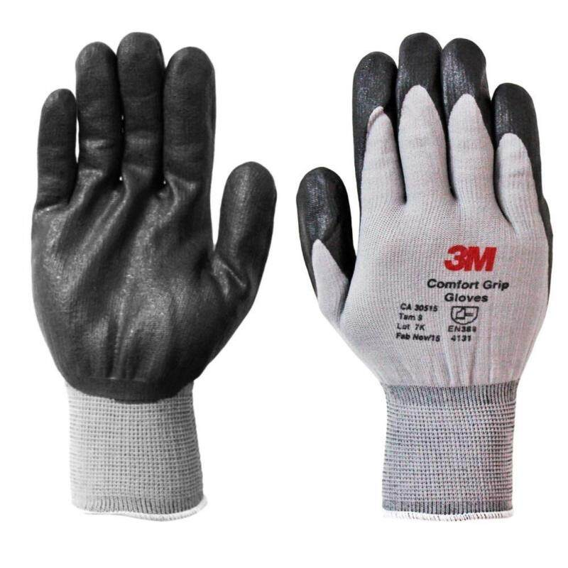 3M COMFORT GRIP GLOVES - SIZE L (PACK OF 2 PAIRS)