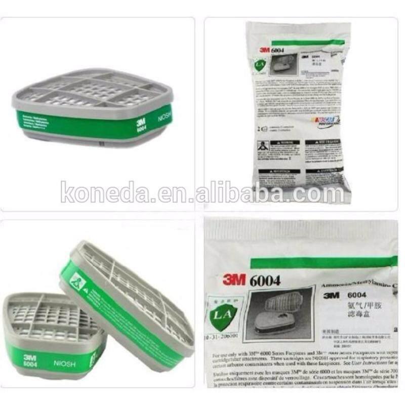 3M gas filter 6004 for ammonia / methyl amine gas