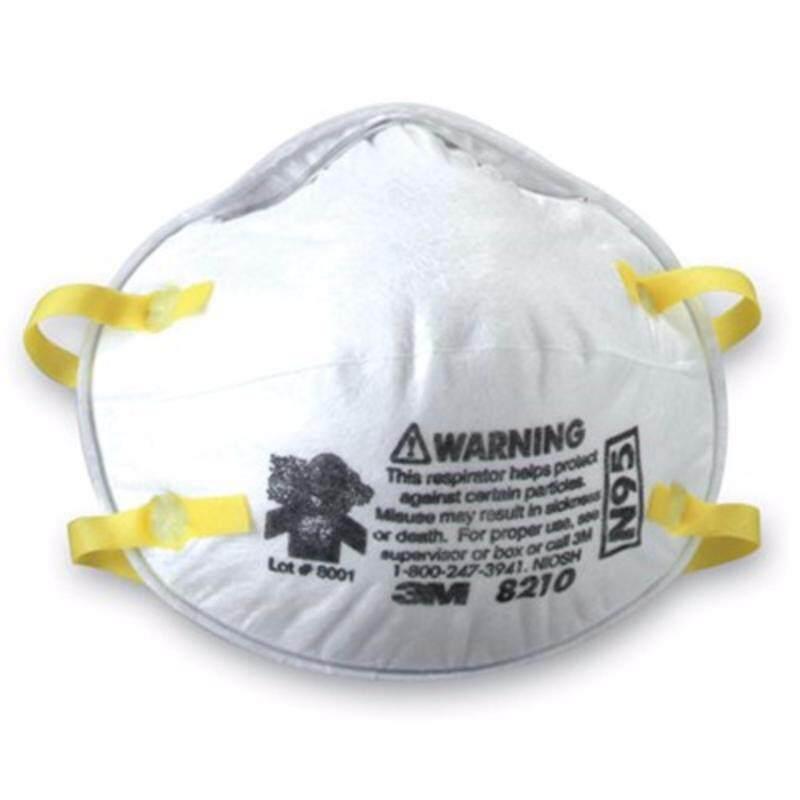 Buy 3M N95 Disposable Respirator 8210 (1 Box of 20 Respirators) Malaysia