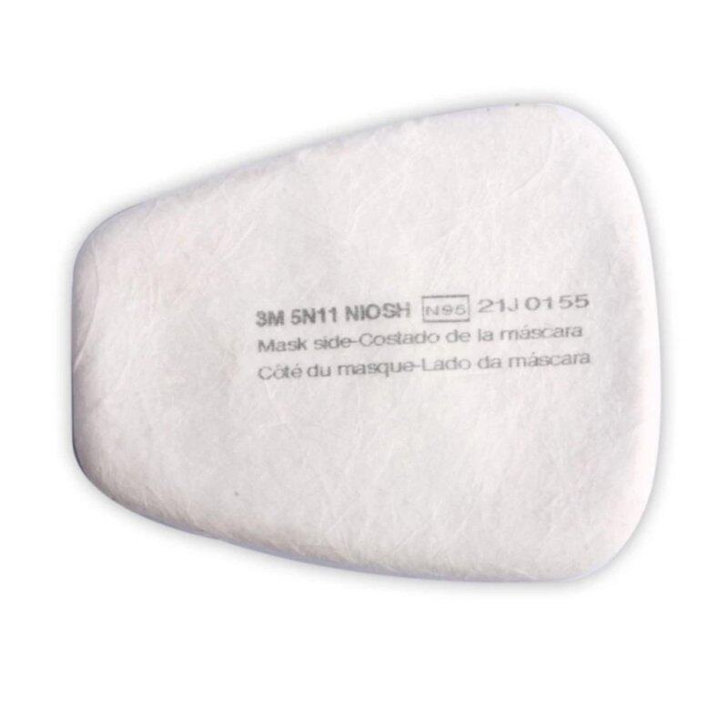 Buy 3M Particulate N95 Cotton Filter 5N11 For 6100/6200/6800/7501/7502 Respirator Gas Mask (Pack of 4pcs) Malaysia