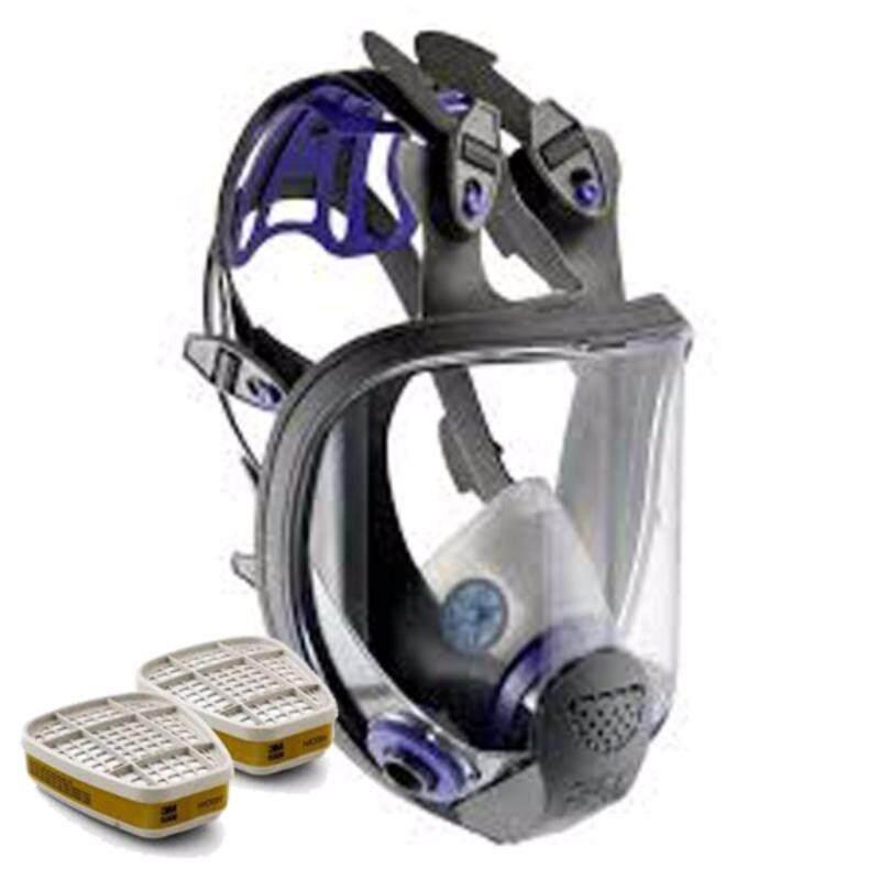 3M™ Ultimate FX Full Facepiece Reusable Respirator FF-402 + 6006 Organic Vapor Cartridge