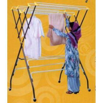 3V Outdoor Anti-Rust Clothes Hanger Dryer -(12 Bars)