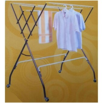 3V Outdoor Anti-Rust Clothes Hanger Dryer - Copper Color (10 Bars)