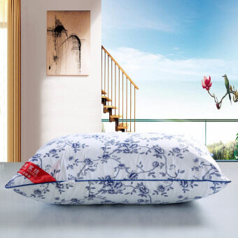 Harga 75cm cotton white single standard pillow