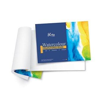 A3 12s WATERCOLOR PAPER PAD (100% CELLULOSE) 300GSM