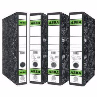 ABBA Lever Arch File - 2-inch Size - 406 Silver - Extra Strong Mechanism X 4 Pc