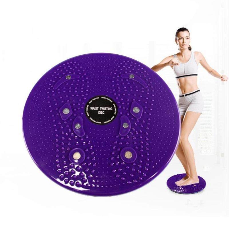 Buy Aerobic Exercise Fitness Magnet Wriggling Waist Disk Twist Board, Size: 25*3cm(Purple) Malaysia