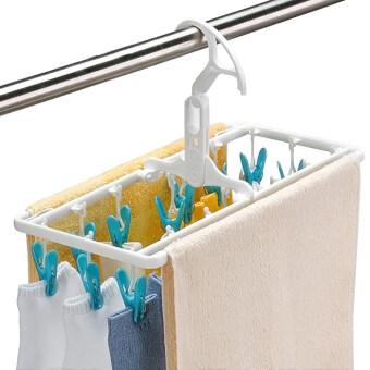 Aisen bra Underwear Socks air dry hanger folding hanger
