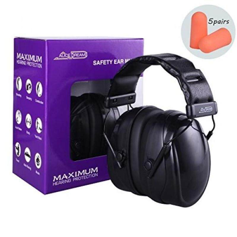 Alice Dreams Ear Muffs, Ear Protectors Shooters Hearing Protection EarMuffs, Shooting Ear Muffs,36dB Professional Ear Defenders for Shooting Hunting