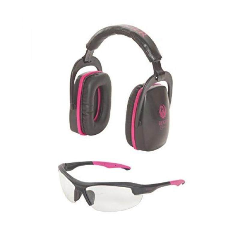Buy Allen Company 27866 Ruger Conix Womens Ballistic Muff & Glasses Combo, Black/Orchid Malaysia