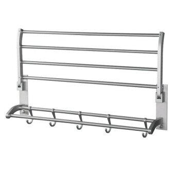 aluminium towel hanging rack bathroom accessories
