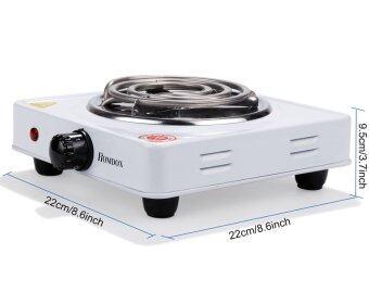 Astar Homdox Electric Portable Home Cook Single Burner Hot PlateHotplate EU Plug.(White) - 2