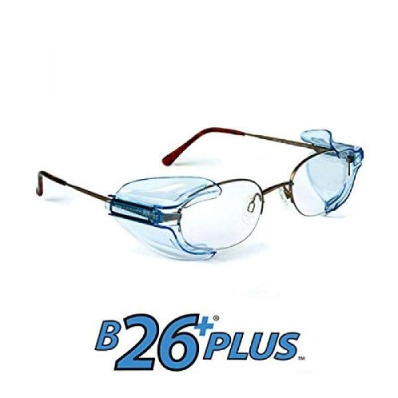 Buy B26+ Wing Mate Safety Glasses Side Shields- Fits Small to Medium Eyeglasses (2 Pair) Malaysia