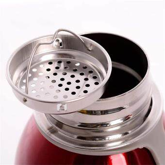 BAFFECT 1000ML Portable Sport Water Bottles Stainless SteelInsulation Cup(Red) - 3
