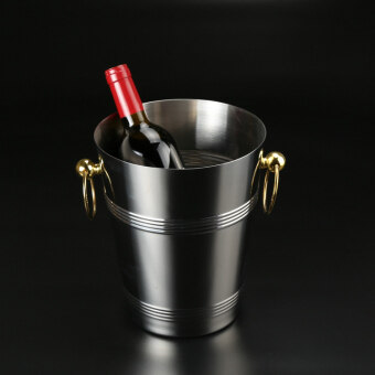 Bar legendary 304 does not rust steel luxury gold ear beer Bucket