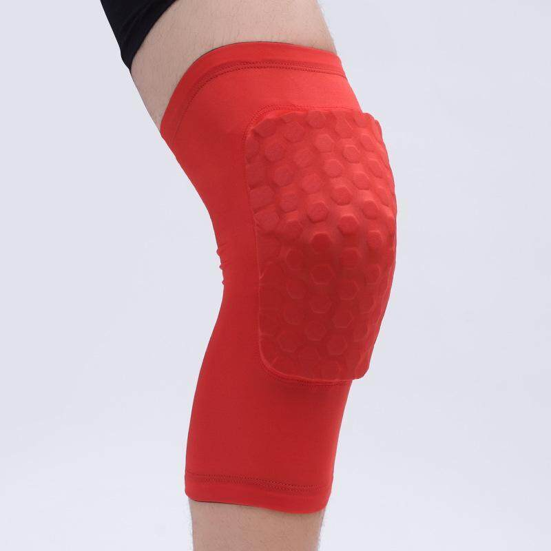 Buy Basketball Leg Knee Sleeve Breathable Football Knee Pads Sport Safety Honeycomb Kneepads Bumper Knee Protector Size M Malaysia