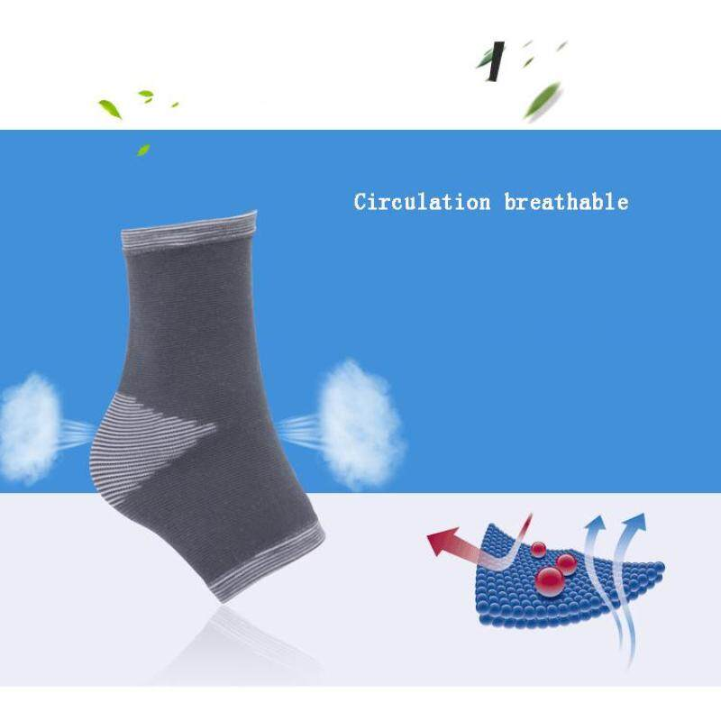 Basketball outdoor sports knit ankle sweat breathable ankle wrist protection (Size:L) A11YDHJ0736