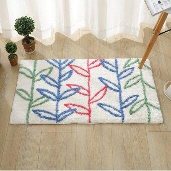 Bathroom bathroom absorbent coaster mat