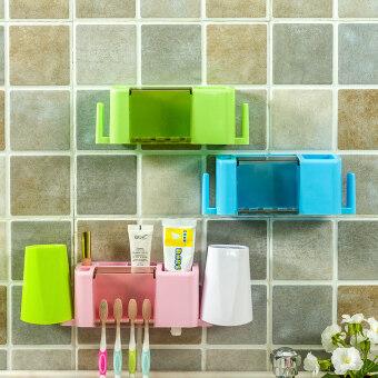 bathroom creative suction wallteeth with wei accessoriestoothbrush holder