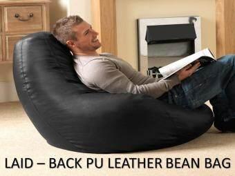 BIG BOB Bean Bag 2.5KG PU Leather Bean Bag   Red Malaysia
