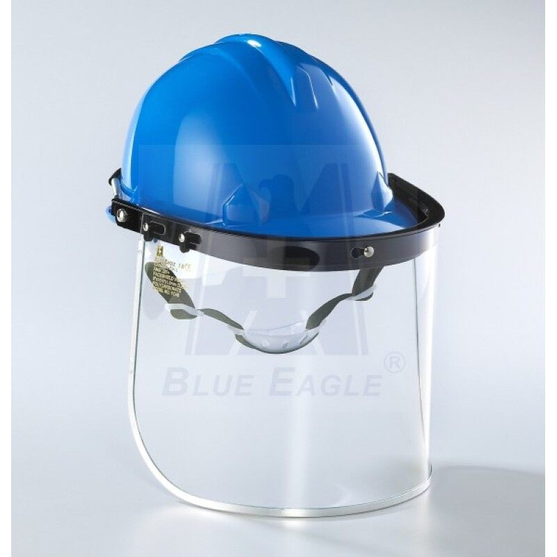 Buy Blue Eagle hanging safety cap-visor anti-shock anti-splash laboratory room chemical products transparent labor protective mask A2 Malaysia
