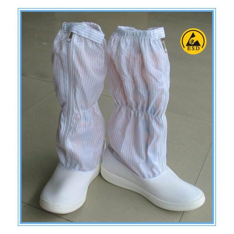 ESD Booties Stripe White Size: 45/275