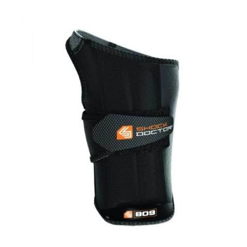Buy [boran]Shock Doctor Ultra Wrist Sleeve Wrap with Gripper, Black, Large, Right Malaysia
