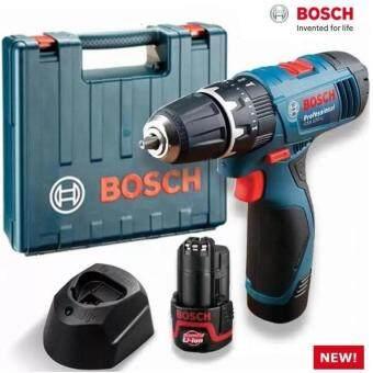BOSCH GSB 120-LI 12V CORDLESS IMPACT DRILL WITH FREE 21PCS SCREWDRIVER/WRENCH BIT SET