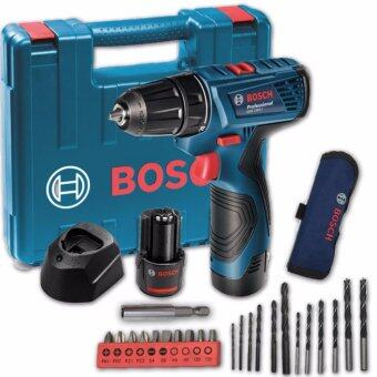 Bosch GSR 12V Compact Cordless Drill Driver + Smart Kit