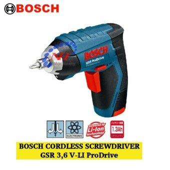 Bosch GSR 3,6 V-LI ProDrive Cordless Screwdriver
