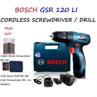 BOSCH GSR120-LI BOSCH CORDLESS SCREWDRIVER/DRILL