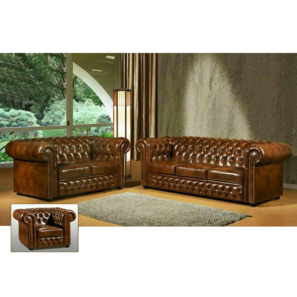 Chesterfield Sofa Set Alexis Almond Transitional Chesterfield Sofa Collection TheSofa