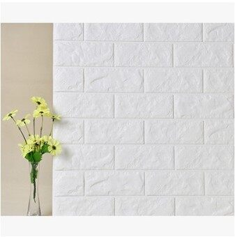 Brick Pattern living room waterproof self-adhesive Classroom Culture wallpaper stickers