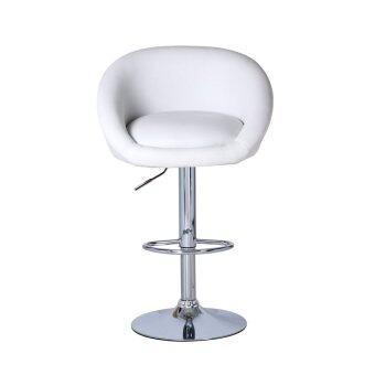bs01 high bar stool white