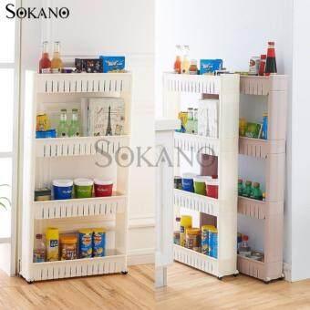BUY 1 FREE 1: SOKANO 4 Tier Space Saver Kitchen Rack free 1 SOKANO3 Tier Space Saver Kitchen Rack - 2