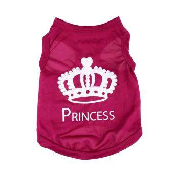 Sell BUYINCOINS Cute Pet Puppy Dog Princess Coat Crown T ...