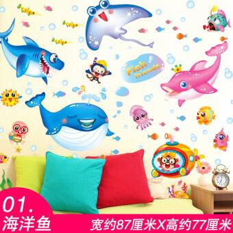 Cartoon Childrenu002639s Bedroom Room Decorations Sticker Wall Stickers Part 90