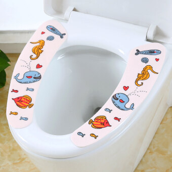 Cartoon children's toilet stickers cushion potty pad potty is