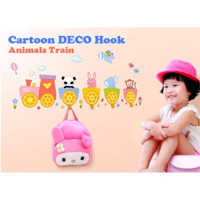 Buy Cartoon DECO HOOK Sucker Hook Key Towel Hanger Wall Holder Hook Multi (animals train) Malaysia