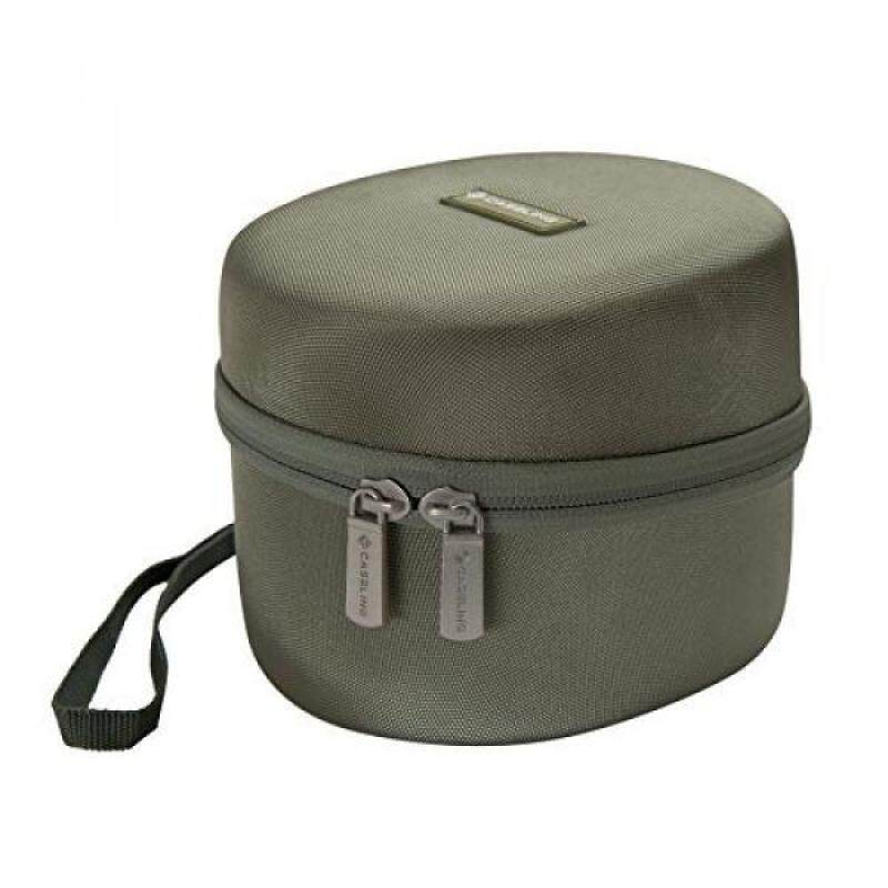 Caseling Hard Case for Howard Leight Impact Sport OD Electric Earmuff. - Includes Mesh Pocket for Accessories. - Green